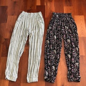 "American Eagle ""Don't Ask Why"" Joggers Set of Two"
